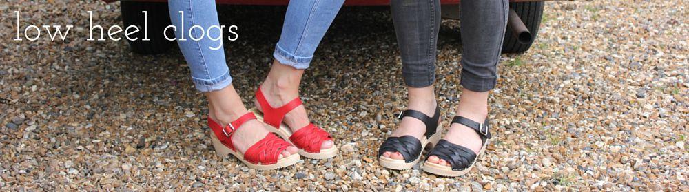 Low Heel Clogs
