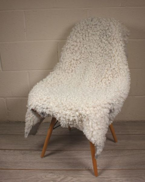 Rare Breed Gotland White Sheepskin