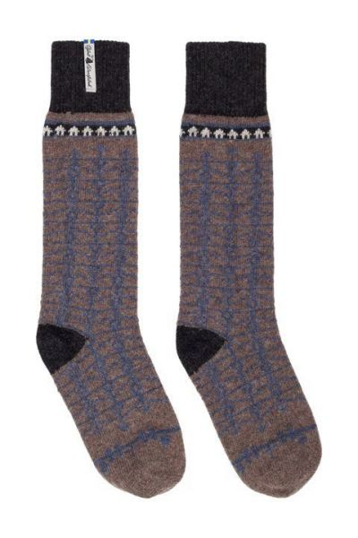 Öjbro Ekshärad Brun Wool Sock