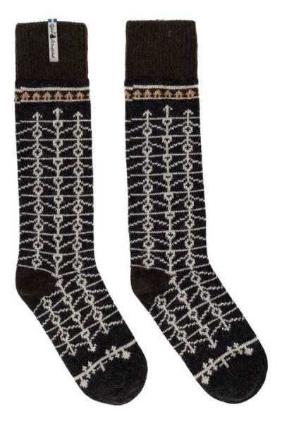 Öjbro Ekshärad Sot Wool Sock
