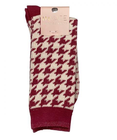 Unmade Copenhagen Anouk Sock in Lipstick