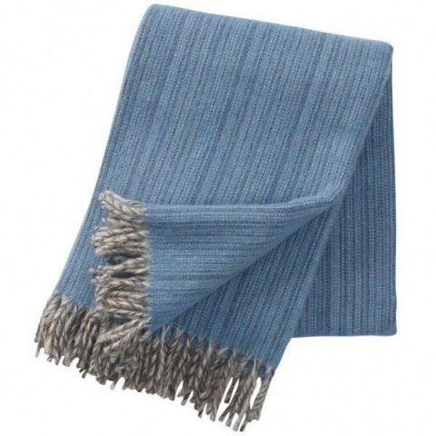 Klippan Bjork Aqua Blanket