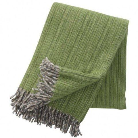 Klippan Bjork Green Blanket
