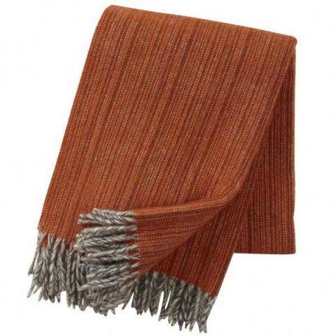 Klippan Bjork Orange Blanket