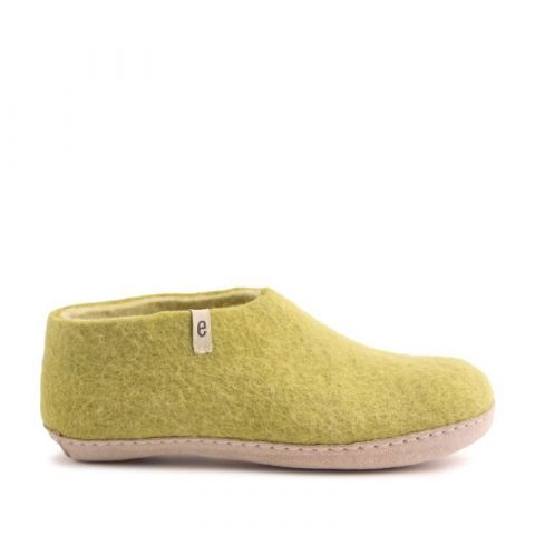 Egos Indoor Shoe in Lime Green