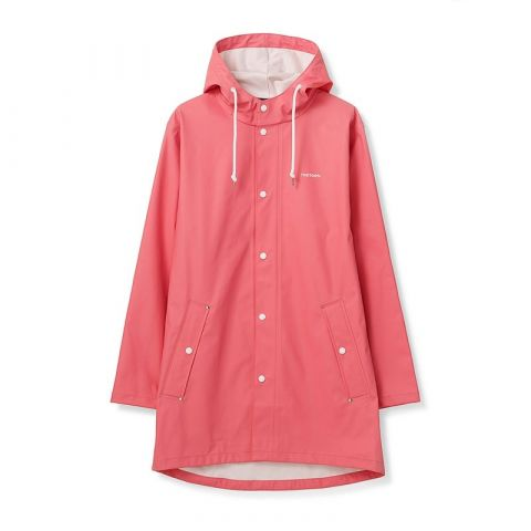 Tretorn Wings Classic Raincoat in Coral