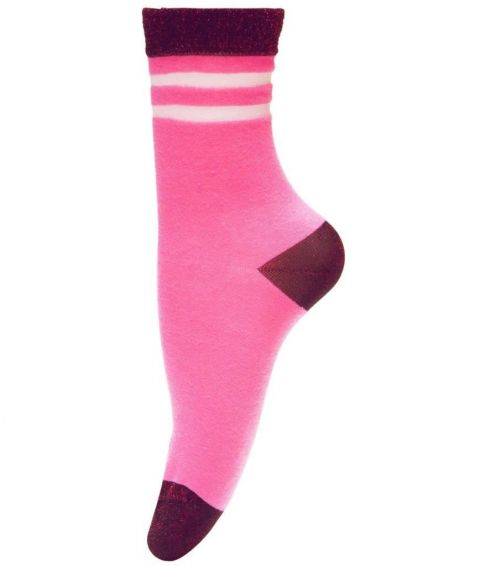 Unmade Copenhagen Fadila Sock in Fandango Pink