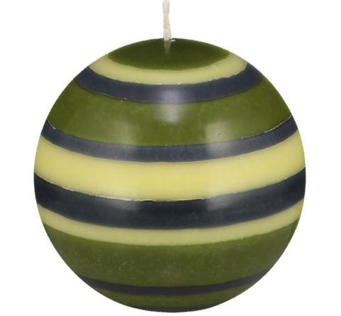 British Colour Standard- Tall Olive Green Candleholder