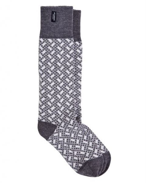 Holebrook Donso Raggsocka in grey full
