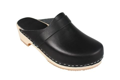 Elsa Classic Black Leather