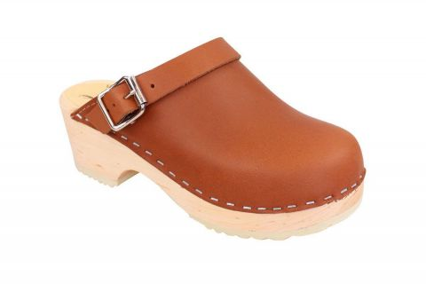 Little Lotta's Classic Tan Clog