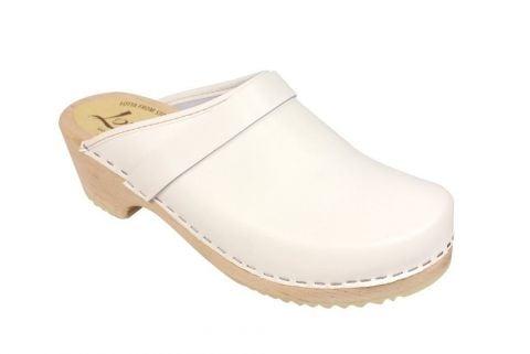 classic white clog