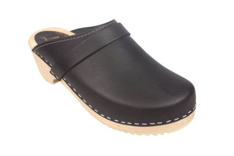 Torpatoffeln Classic Clog Black