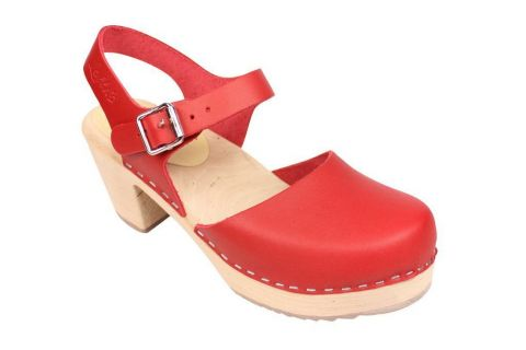 highwood red clog