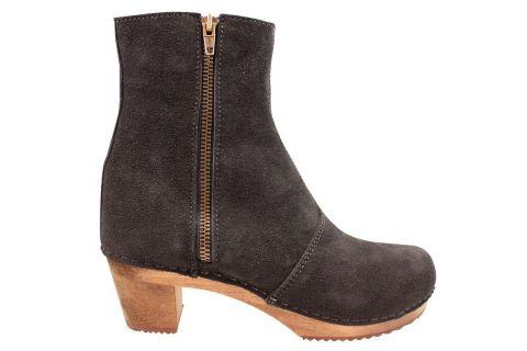 Lotta's Emma Clog Boots in Black