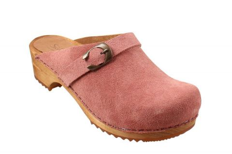Sanita Hedi Open in Rose Suede