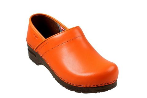 Sanita Izabella Clog in Orange