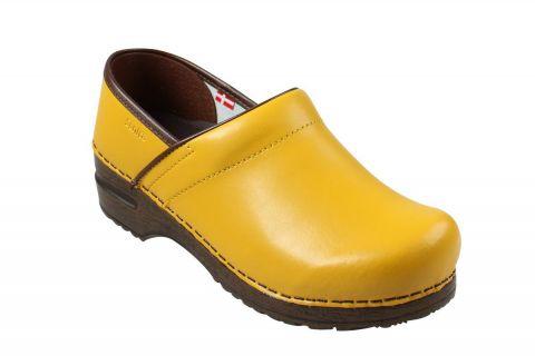 Sanita Izabella Clog in Yellow