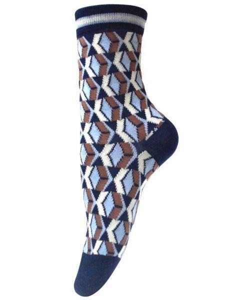 Unmade Copenhagen Edie Sock in Navy Blue