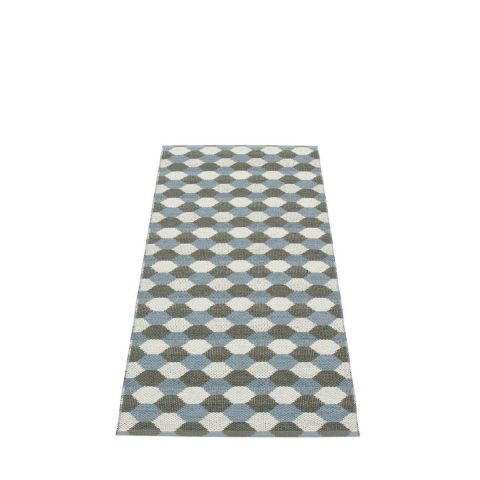 Dana Rug Storm Charcoal and Fossil Grey