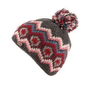 Kusan Bobble Hat in Charcoal