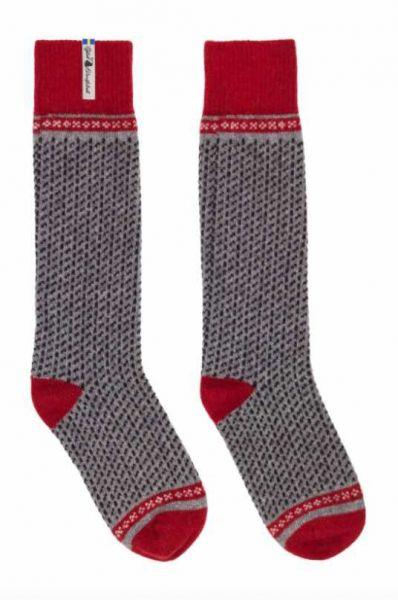 Öjbro Skaftö Gra Wool Sock