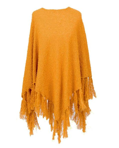 Powder Tara Poncho in Mustard