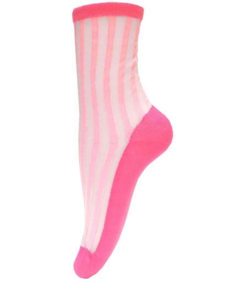 Unmade Copenhagen Lina Sock in Fandango Pink