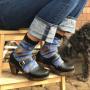 Unmade Copenhagen Kendra Sock in Navy Blue