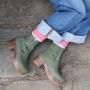 Calou Moa Boot in Green Nubuck