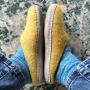 Egos Copenhagen Slip-on Indoor Shoe Simple in Mustard