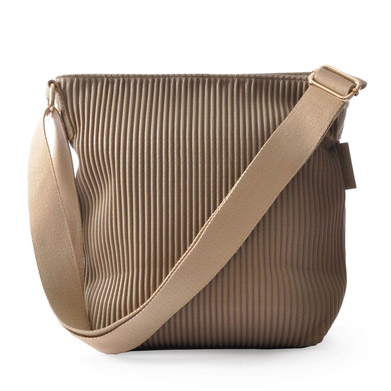 Ceannis Walnut Small Shoulder Bag in Khaki Green