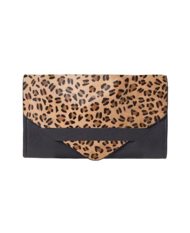 Unmade Bendingo Wallet in Leopard