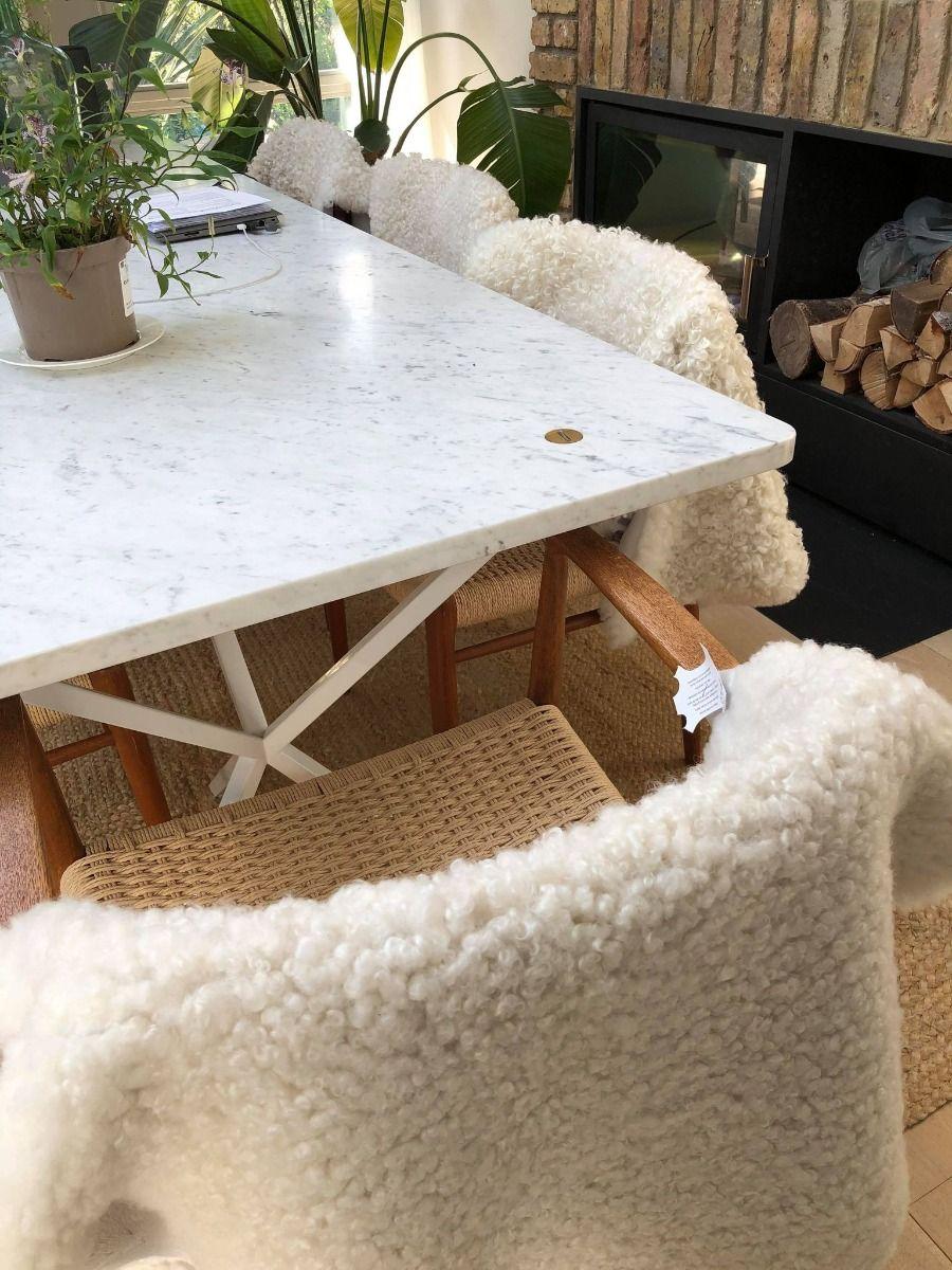 Rare Breed Gotland White Sheepskin