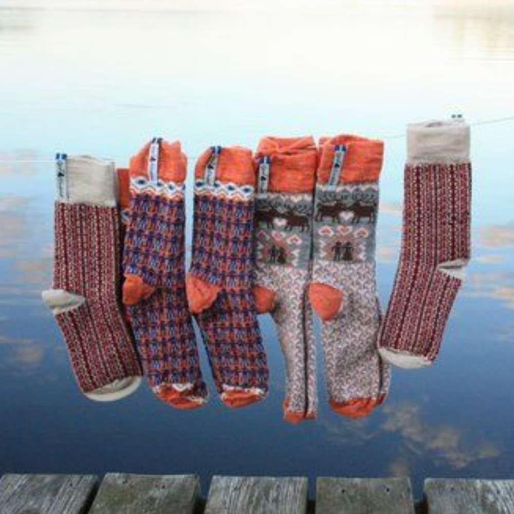 Öjbro Fästfolk Emilia & Einar Merino Wool Sock