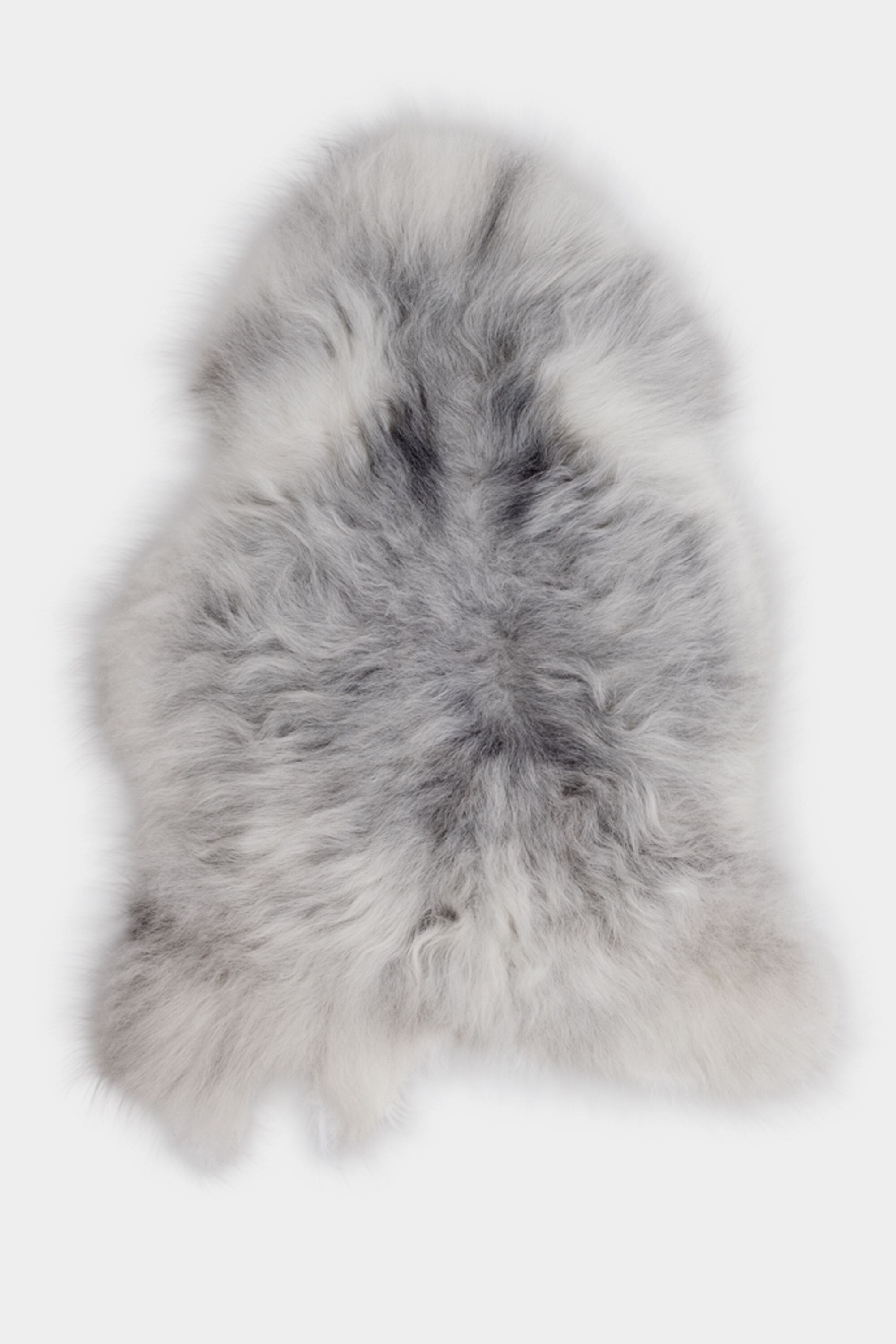 Grey Icelandic Sheepskin L