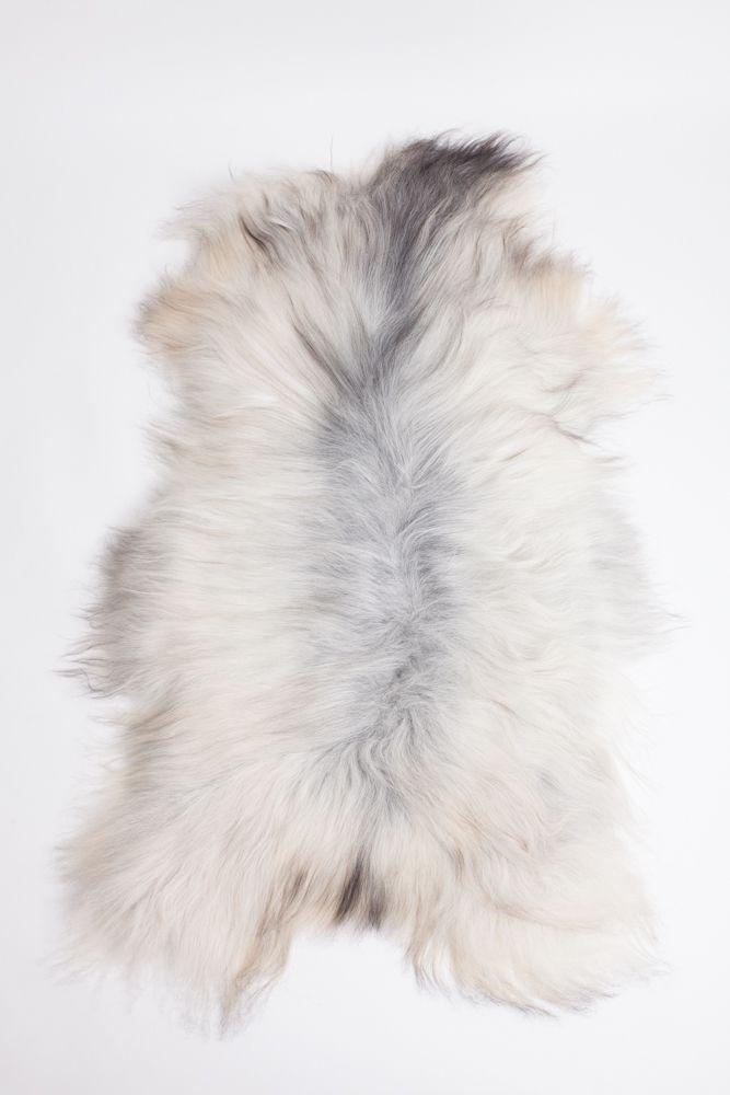 Grey Icelandic Sheepskin L