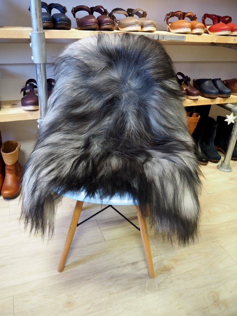 Grey Icelandic Sheepskin