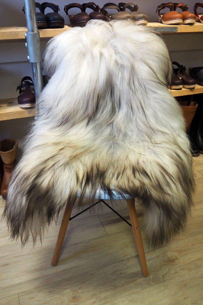 Grey Icelandic Sheepskin