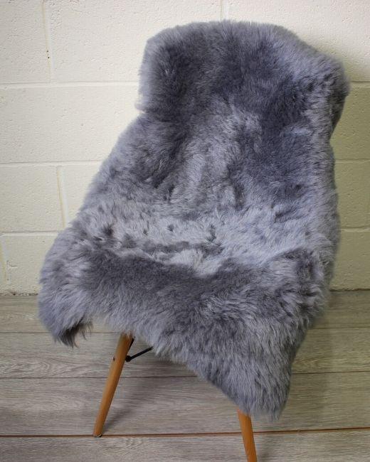 Grey Brisa Shorn Icelandic Sheepskin M