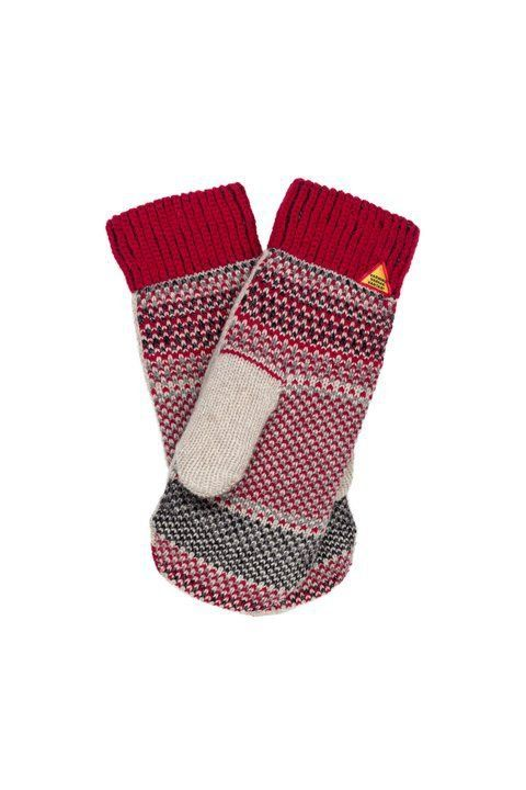 Öjbro Wool Mittens in Dalarna