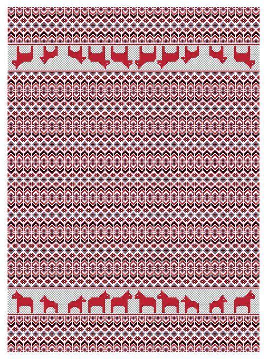 Öjbro Plaid Blanket Dalarna