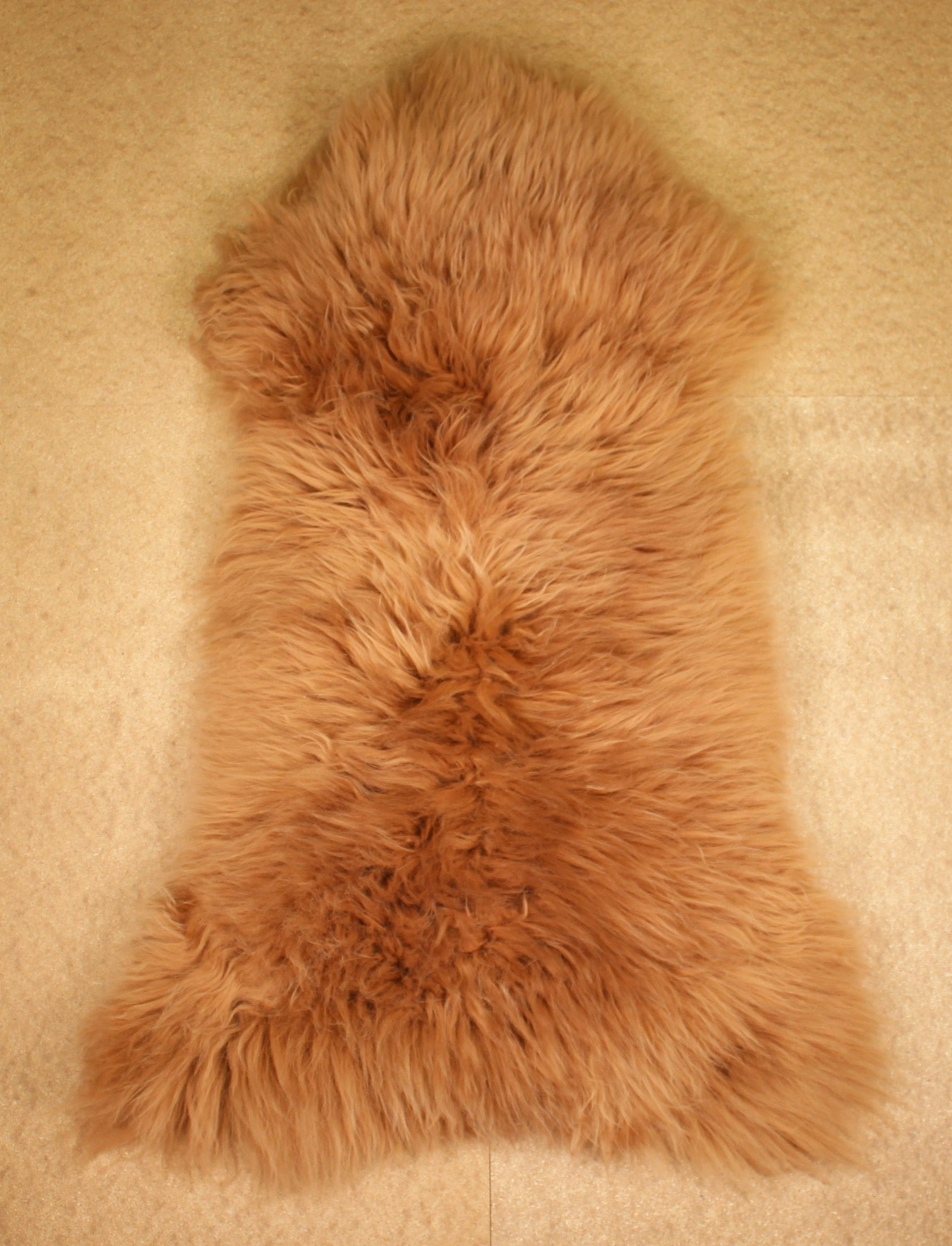 Camel Swedish Sheepskin M