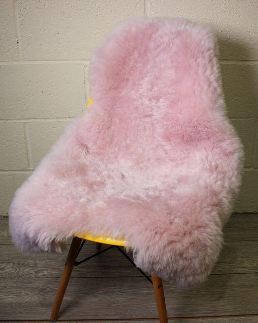 Pale Pink Icelandic Sheepskin S