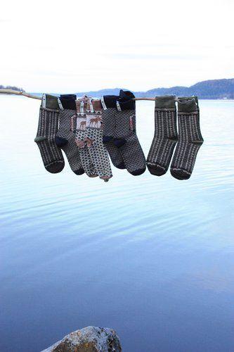 Öjbro Men's Ekshärad Sot Merino Wool Sock