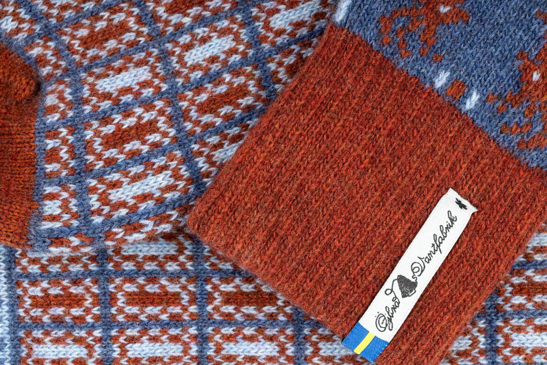 Öjbro Scania Märta Wool Sock