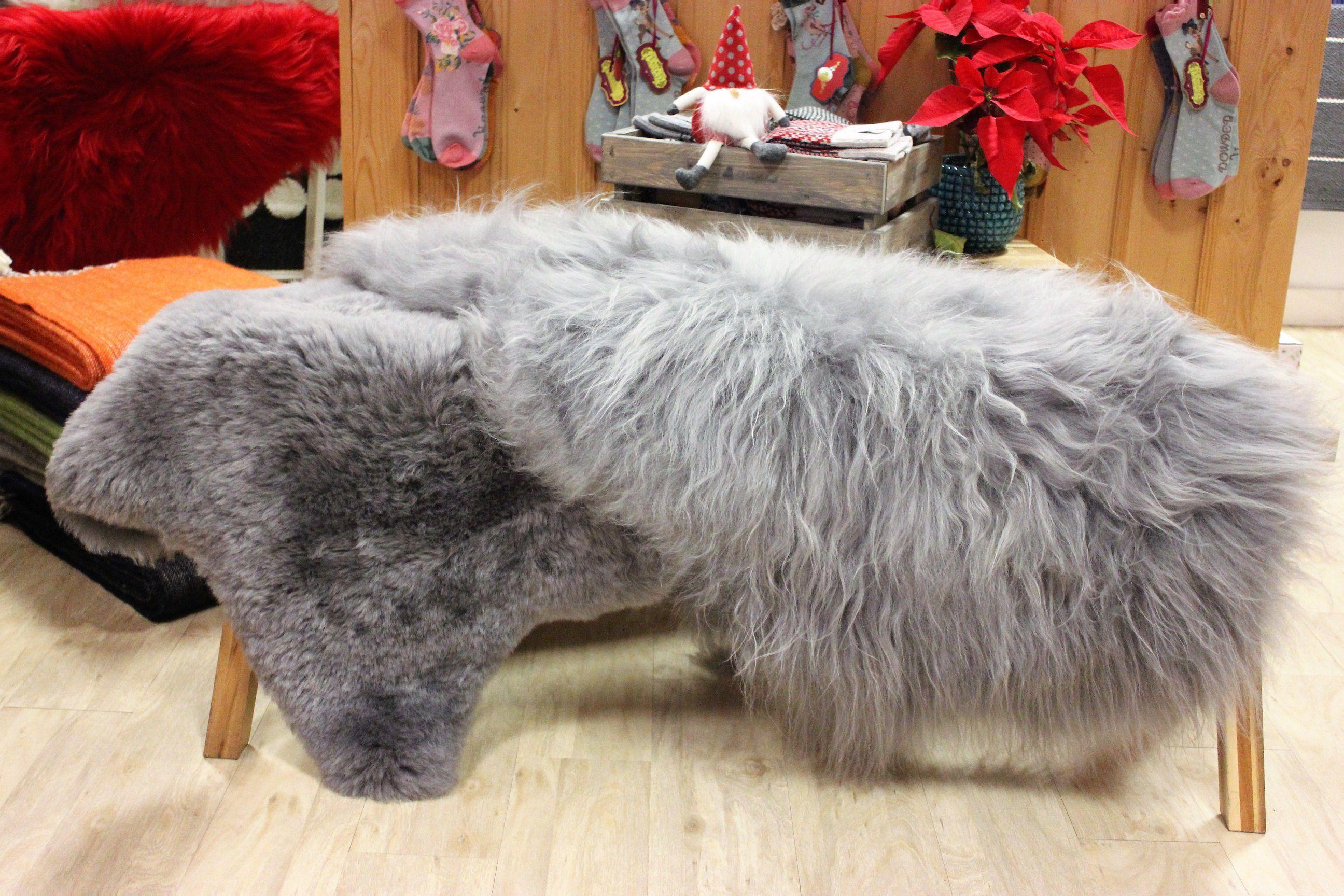 Grey Brisa Icelandic Sheepskin