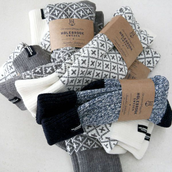 Holebrook Men's Brommo Raggsocka Grey