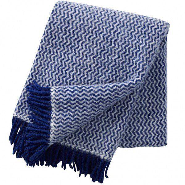 Klippan Tango Blanket in Blue