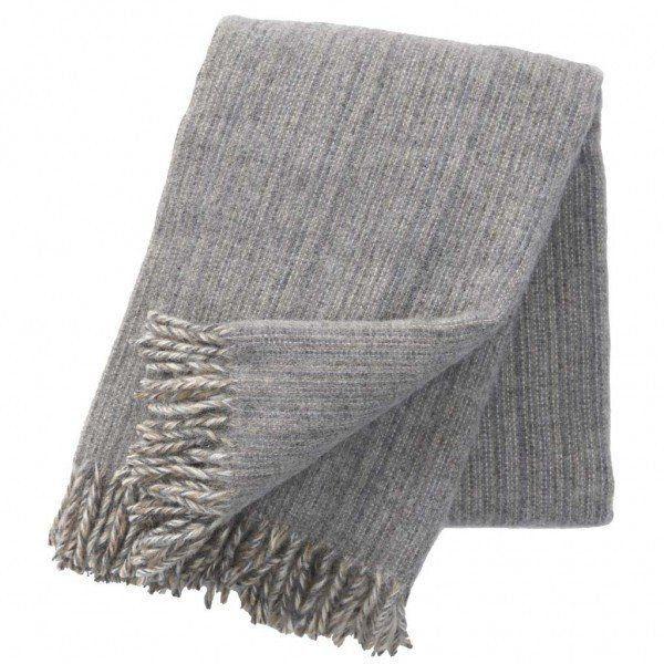 Klippan Bjork Grey Blanket